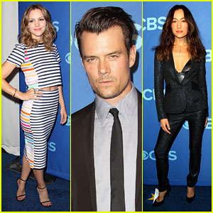 Katharine McPhee, Josh Duhamel, & Maggie Q Support New Shows at CBS Upfront 2014!
