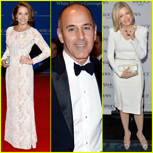 Katie Couric & Diane Sawyer Report to the White House Correspondents' Dinner!