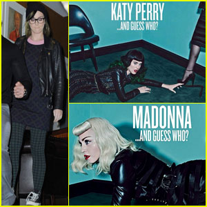 Katy Perry & Madonna Tease Shared 'V' Magazine Cover!