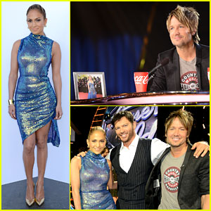 Keith Urban Places Nicole Kidman Photo on 'Idol' Judges Table!