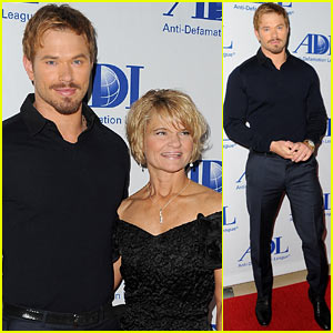 Kellan Lutz & His Mom Support Several Good Causes Before Celebrating Mother's Day!
