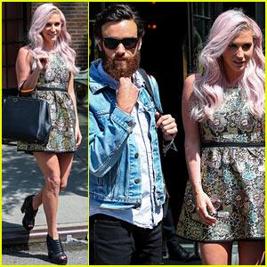 Kesha & New Boyfriend Brad Ashenfelter Continue Their NYC Getaway