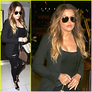 Khloe Kardashian Uses Gym as Therapy for Her Mind, Body, & Soul!