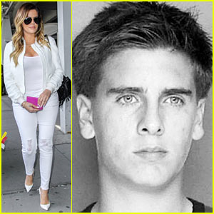 Khloe Kardashian Celebrates Scott Disick's Birthday By Posting Side-By-Side's of Their DUI Mugshots