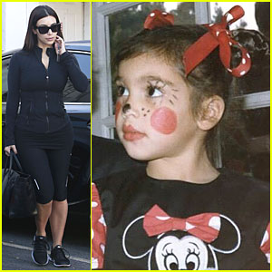 Kim Kardashian Posts Adorable Pic of Herself as Minnie Mouse!