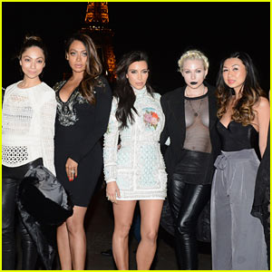 Kim Kardashian's Bachelorette Party in Paris - See All the Pics Here!
