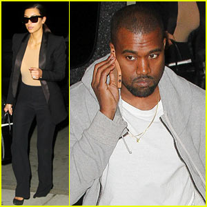 Kim Kardashian & Kanye West Arrive in NYC Amid Wedding Rumors!