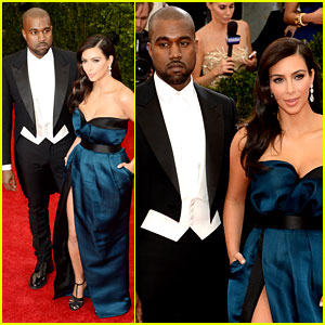 Kim Kardashian & Kanye West Hit the Right Notes at the Met Ball 2014