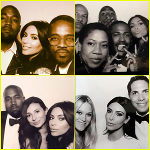 Kim Kardashian & Kanye West's Wedding Booth Photos Revealed!