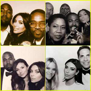 Kim Kardashian & Kanye West's Wedding Booth Photos Revealed!