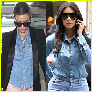 Kim Kardashian Repeats Same Shirt Two Days in a Row After Shopping for Wedding Dresses