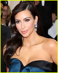 Kim Kardashian Suffers Wardrobe Malfunction at Met Ball 2014