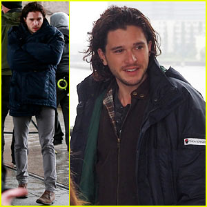 Kit Harington Gets the Major Chills While Filming 'Spooks: The Greater Good'