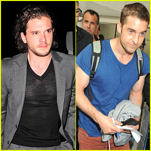 Kit Harington & Scott Speedman Add Hunk Appeal to Cannes!