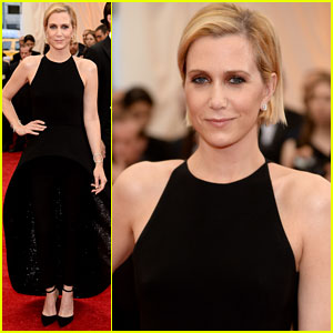 Kristen Wiig Walks Met Ball 2014 Red Carpet with Designer Alexander Wang!