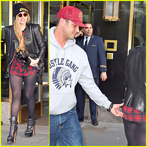 Lady Gaga Gets Her Butt Pinched By Boyfriend Taylor Kinney in NYC!