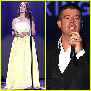 Lana Del Rey & Robin Thicke Bring Amazing Music to Cannes' amfAR Gala 2014