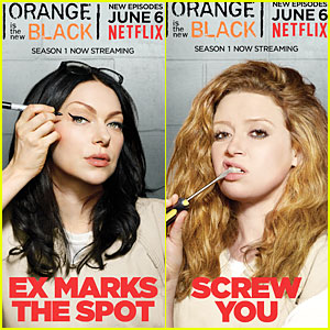 Laura Prepon & Natasha Lyonne Get Us Excited For 'OITNB' Season 2!