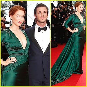 Lea Seydoux & Gaspard Ulliel Showcase Fashion at 'Saint Laurent' Cannes Premiere!