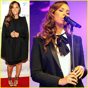 Leona Lewis Performs in Berlin After Attending Global Down Syndrome Foundation Event in D.C.