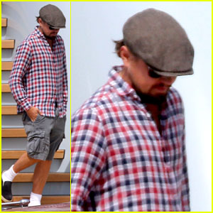 Leonardo DiCaprio Steps Out in Cannes After Night of Partying