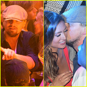 Leonardo DiCaprio Parties it Up at the Cannes Film Festival