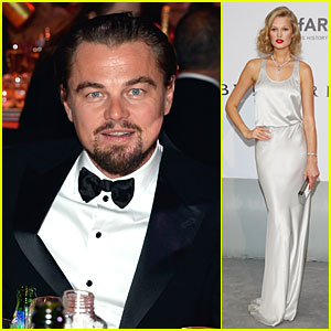 Leonardo DiCaprio & Toni Garrn Help Raise Money at Cannes' amfAR Gala 2014