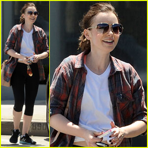 Lily Collins Says 'Treat Yourself Nicely' on Mondays!