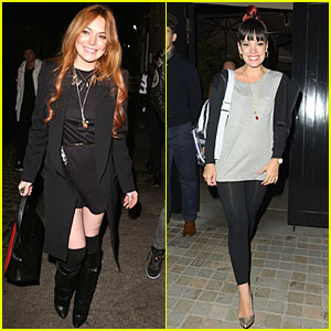 Lindsay Lohan & Lily Allen Are Completely Hooked on Chiltern Firehouse!