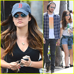 Lucy Hale Grabs Lunch with Joel Crouse After New Song 'Kiss Me' Premiere
