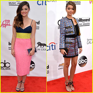 Lucy Hale & Sarah Hyland Are Two Gorgeous Gals at the Billboard Music Awards 2014!