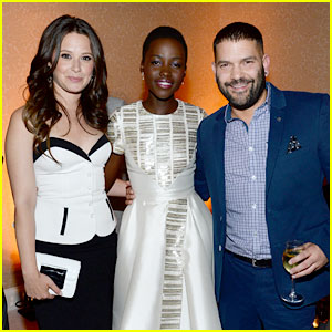 Lupita Nyong'o Meets the 'Scandal' Cast in Washington, D.C.!