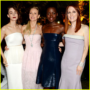 Lupita Nyong'o & Rooney Mara Party with Calvin Klein in Cannes!