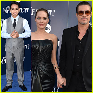 Maddox Jolie-Pitt Looks Very Dapper as He Supports Mom Angelina Jolie at 'Maleficent' Premiere!
