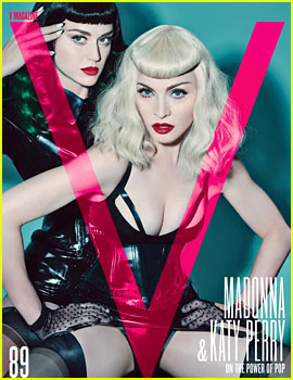 Katy Perry & Madonna Channel Their Inner Dominatrix for 'V' Magazine