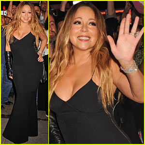 Mariah Carey Shuts Down Times Square for 'Me. I Am Mariah...The Elusive Chanteuse'