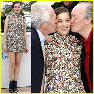 Marion Cotillard Gets All the Love at Cannes 'Two Days, One Night' Photo Call!