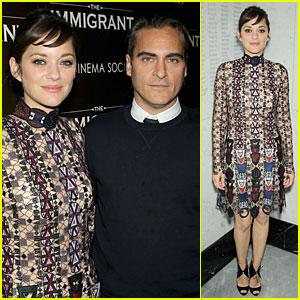 Marion Cotillard & Joaquin Phoenix Bring 'The Immigrant' to Manhattan!