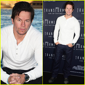 Mark Wahlberg Begins 'Transformers 4' Promo Tour in Sydney!