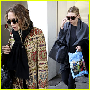 Mary-Kate & Ashley Olsen Fly to Los Angeles After the Met Ball