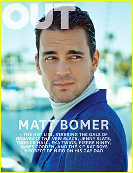 Matt Bomer Felt a 'Responsibility' to Come Out, Discusses 'Chill' Wedding to Simon Halls with 'Out'!