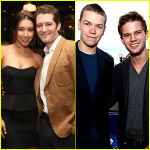 Matthew Morrison & Jeremy Irvine Attend Eric Podwall's WHCD Weekend Party