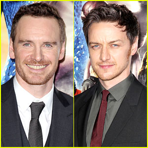 Michael Fassbender & James McAvoy Are Sexy Superheroes at 'X-Men' Premiere!