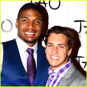 Michael Sam & Boyfriend Vito Party in Vegas After NFL Draft!