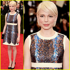 Michelle Williams Spends Her Night Off From 'Cabaret' at the Met Ball 2014!