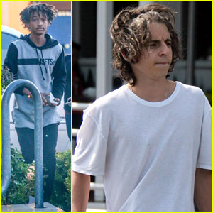 Moises Arias Plays Cool in WeHo After Willow Smith Controversy
