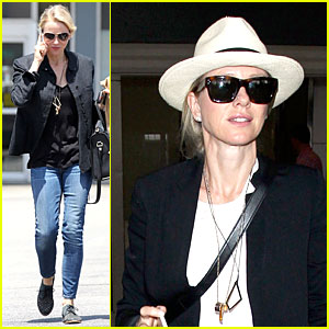 Naomi Watts Gets Back to L.A. Business After Quick Cannes Trip!