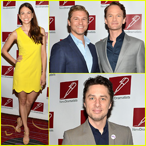Neil Patrick Harris & David Burtka Suit Up for New Dramatists Spring Luncheon 2014