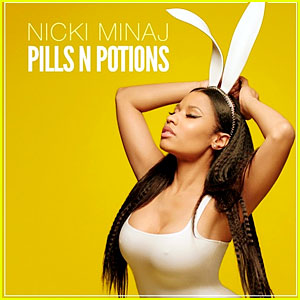 Nicki Minaj Reveals New Single 'Pills N Potions' Cover Artwork!