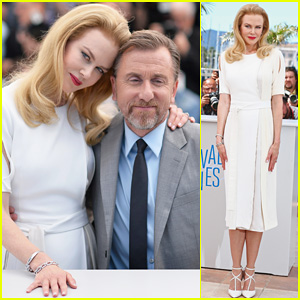 Nicole Kidman is Radiant in White for Cannes Festival 'Grace of Monaco' Photo Call!